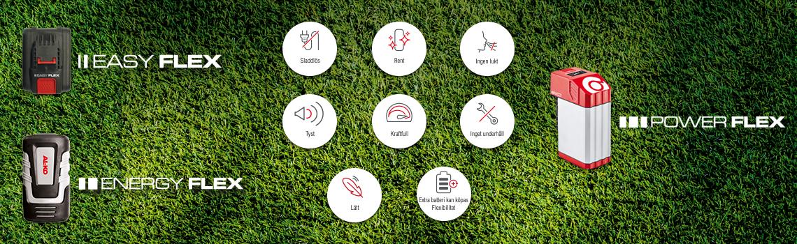 Batteriserier | Fördelar batteridrivna trädgårdsmaskiner från AL-KO