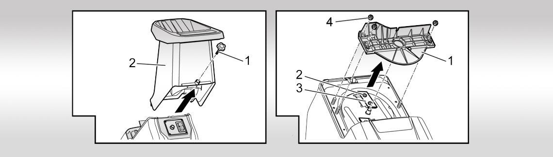 AL-KO Tillbehör till vård av träd & häckar| knivbyte kompostkvarn