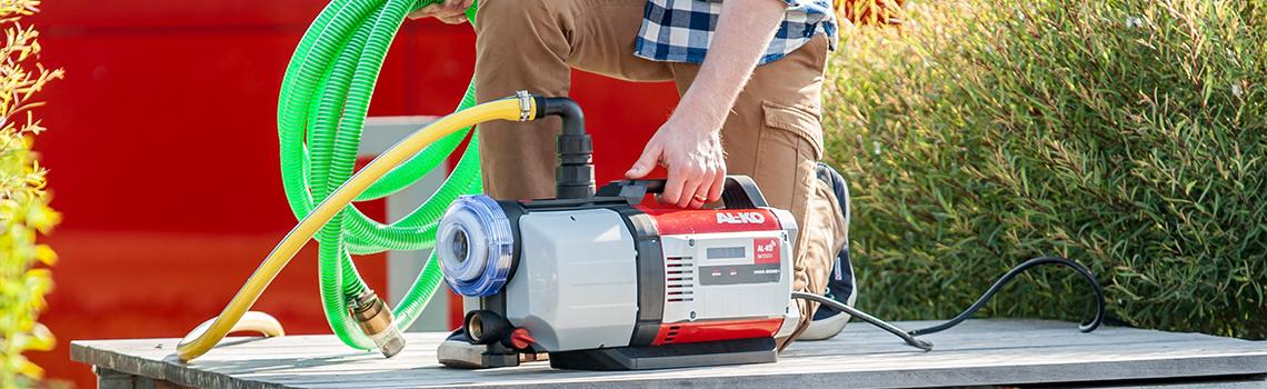 Pumpautomat | AL-KO pumpautomat som används
