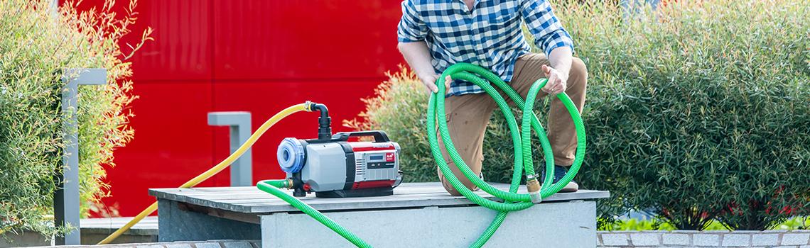 Hydroforpumpar & pumpautomater | AL-KO Spara vatten i hem och trädgård