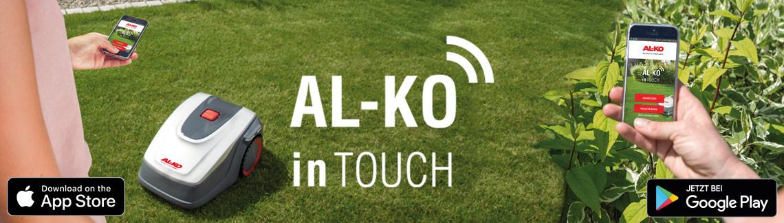 Robotgräsklippare | AL-KO inTouch App