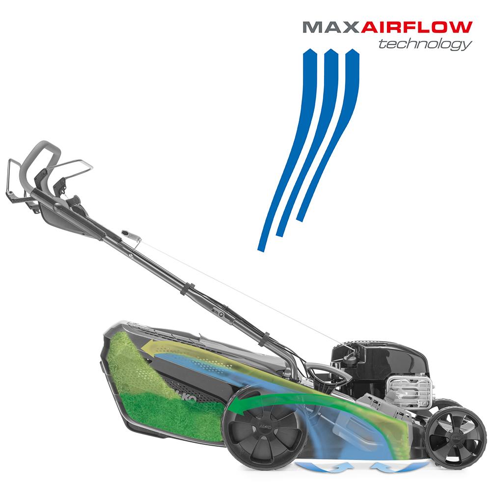 Gräsklippare | AL-KO MaxAirflow Technology flowforhold