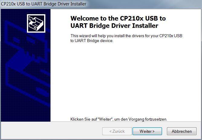 Mähroboter   AL-KO Robolinho® Autoupdater - Schritt 3: USB Treiber Setup