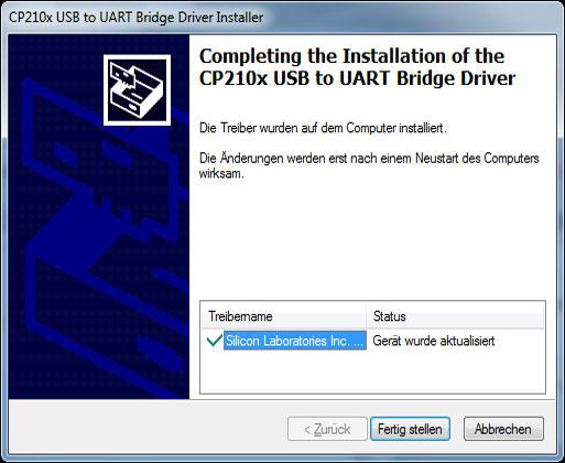 Mähroboter   AL-KO Robolinho® Autoupdater - Schritt 6: Installation fertig stellen