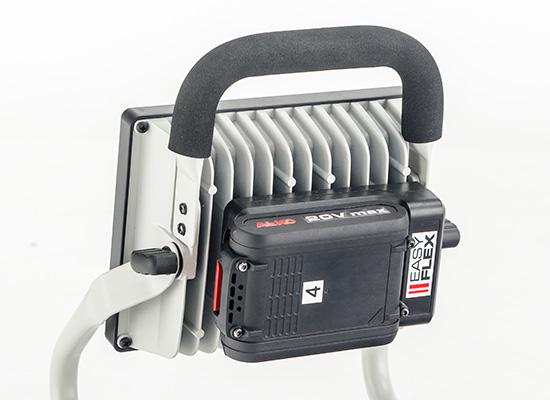 AL-KO produkter till byggarbetsplatsen fördelar| Easy Flex batteri