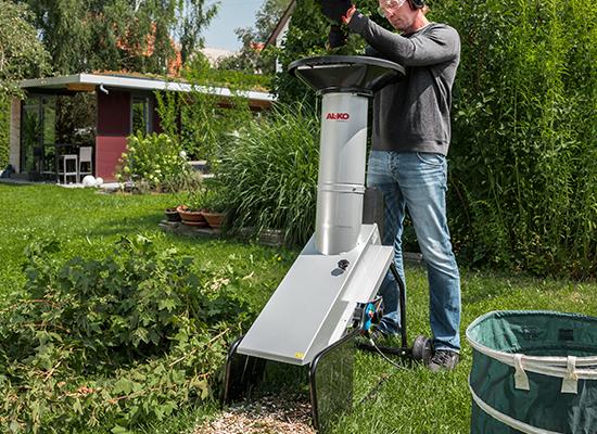 Kompostkvarnar | Säker uppställning av AL-KO kompostkvarnar