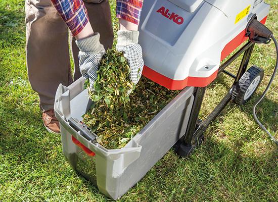 Kompostkvarnar | AL-KO kompostkvarnar med stor uppsamlingsbehållare