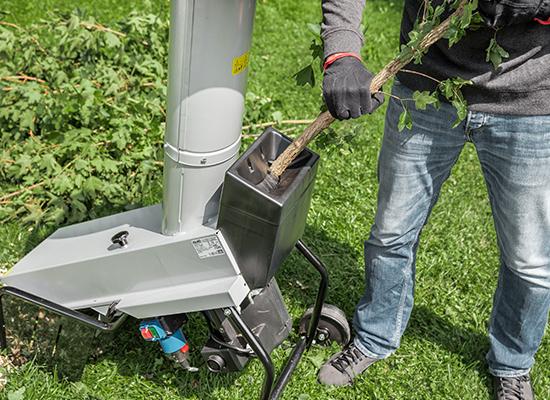 Kompostkvarnar | AL-KO kompostkvarnar med separat grenmatning