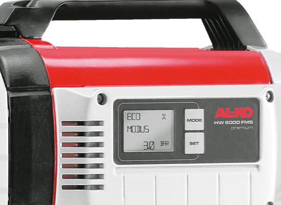 Hydroforpumpar | AL-KO Flow-Measurement-System