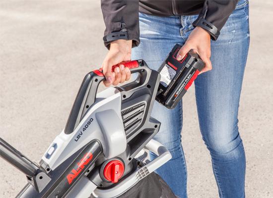 AL-KO lövblåsare och lövsugare fördelar | Batterifamiljen