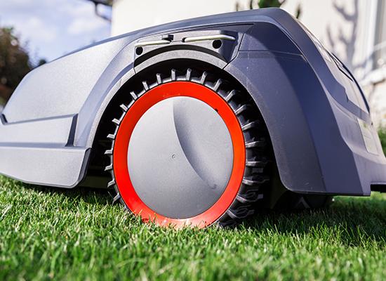 AL-KO robotgräsklippare fördelar | Greppvänlig profil