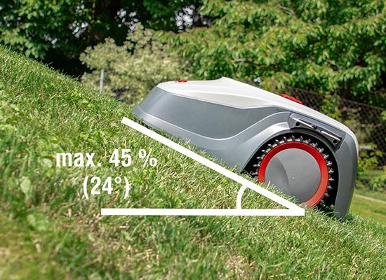 AL-KO robotgräsklippare fördelar |profil med bett