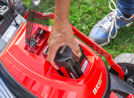 Gräsklippare | AL-KO enkel kontrol av laddningsstatus