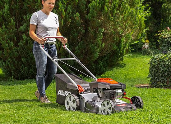 Gräsklippare | AL-KO Kommer lätt framåt tack vare stora hjul