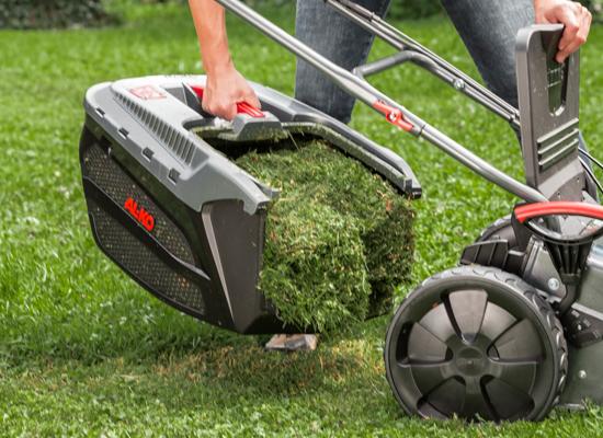 Gräsklippare | AL-KO MaxAirflow Technology optimal gräsuppsamling