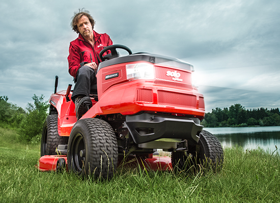 Trädgårdstraktorer | AL-KO breda däck