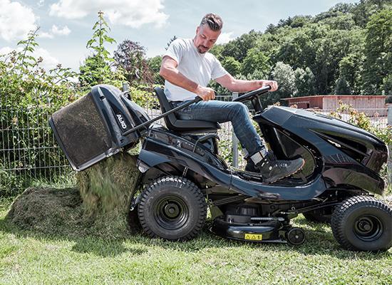 Trädgårdstraktorer | AL-KO tömning av uppsamlare