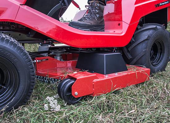 Trädgårdstraktorer | AL-KO snabbväxling av klippaggregat