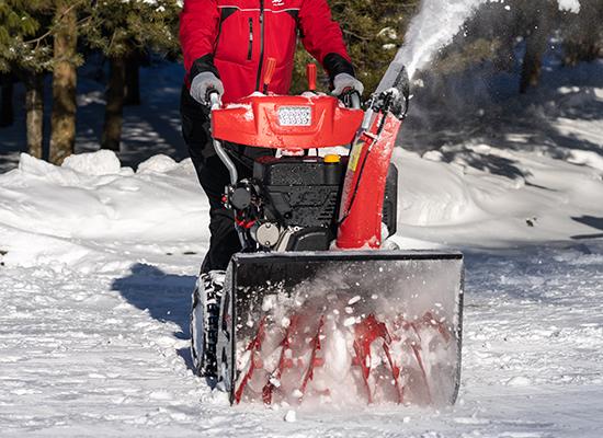 Snöslungor | AL-KO enkel snöröjning