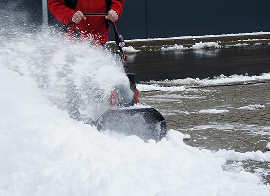 Snöslungor | AL-KO helt ren från snö