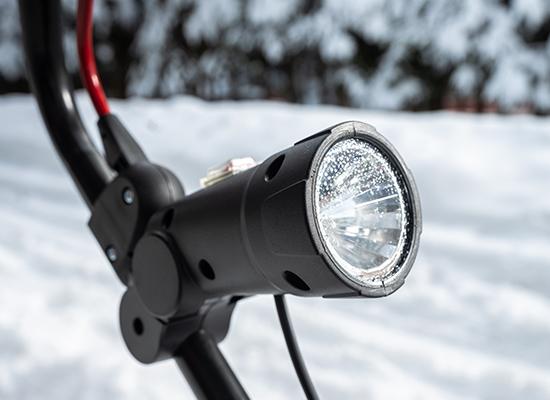 Snöslungor| AL-KO snöslunga med strålkastare