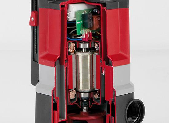 AL-KO dränkbara pumpar | Motor und Innenleben