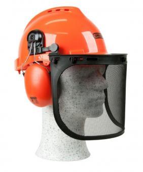 Säkerhetshjälm M/hörselskydd + Nackskydd